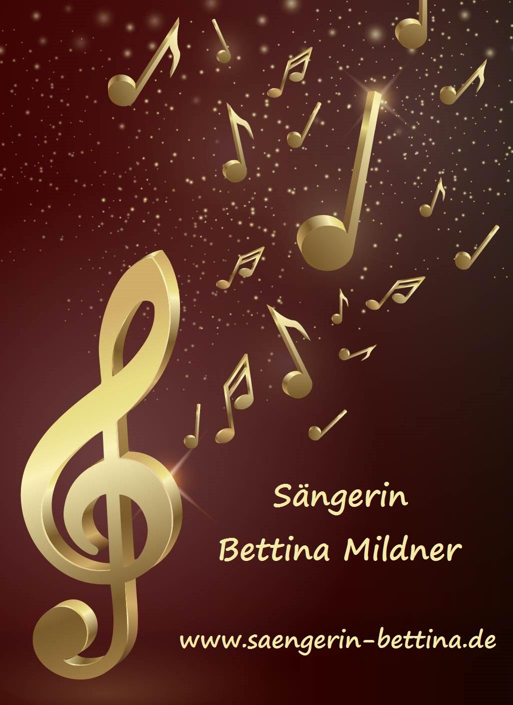 Bettina Mildner- Sängerin